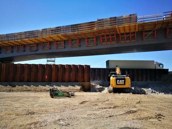 Purchase of used sheet pile near Munich Airport